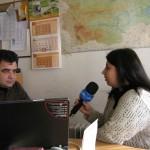 """Представяне на програма """"Земята - източник на доходи"""" пред местна Пловдивска телевизия - ТВ САТ - 27.11.2007 г."""