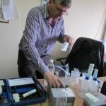"""Обучение на екип от Фондация """"Земята-източник на доходи"""" за методики за химичен анализ на почви - 04.04.2014 г."""