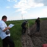 Маркиране на граници на имоти на участници от с. Пъдарско - 21.05.2014 г.
