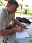 Агрономически консултации на участници от с. Брестовица - 15.08.2014 г.