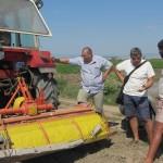 Агроконсултации на земеделски стопани в с. Чалъкови - 26.08.2015 г.