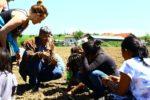 Провеждане на практическо обучение за отглеждане на билки в с. Брестница, обл. Ловеч - 16.04.2016 г.
