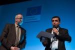 Връчване на специалната награда на журито в категория Иновативна комуникация на Фондацията (Иван Пенов) - 09.12.2013 г.