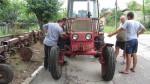 """Оглед на трактор по инициатива """"Закупуване на колесен трактор"""" в с. Борован - 16.06.2015 г."""